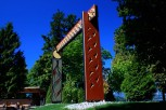 2008, Carved and Painted Red Cedar Portals